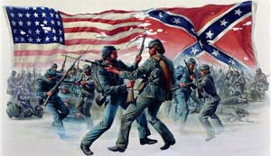 Image result for the first major battle of the u.s. civil war begins in 1861